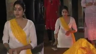 Actress Janvikapoor At Tirumala Darashanam | Latest Tollywood News | TFPC - TFPC