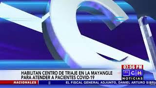 Habilitan Centro de Triaje en la colonia Mayangle de Comayagüela