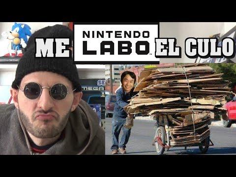 ¡¡¡NINTENDO LABO SOLO LE GUSTA A SASEL Y 4 LAMECALVAS MÁS!!! - Nintendo switch