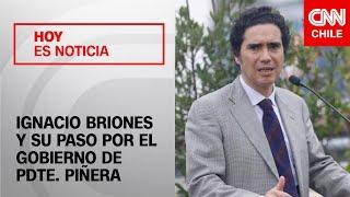"""Briones y su paso por gobierno: """"No voy a renegar de eso ni tampoco -como hacen otros- ser desleal"""""""