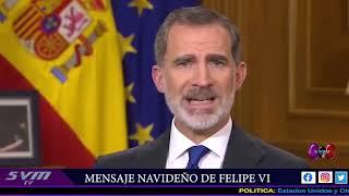 SVMtv. MENSAJE DE SU MAGESTAD FELIPE VI