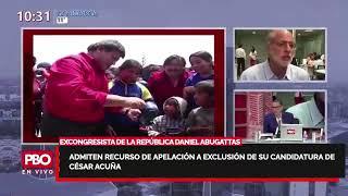 ABUGATTAS SOBRE APELACIÓN POR EXCLUSIÓN DE ACUÑA: JEE no sigue normas electorales ???? Radio 91.9 FM