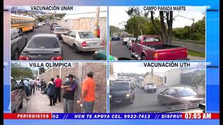 ¡Prosigue vacunación contra #Covid19 en Honduras!2