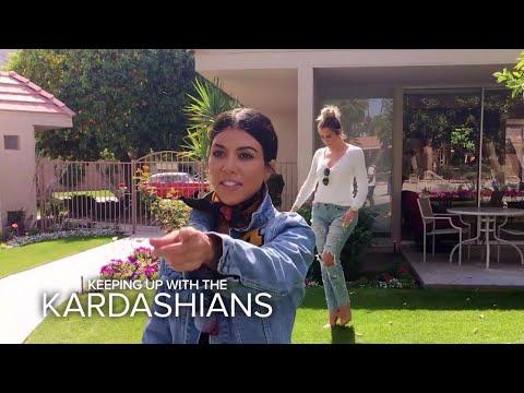 KUWTK   Kardashian Sisters Visit Their Grandparents' Palm Springs House   E!