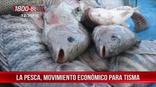 La pesca un movimiento económico para el pueblo de Tisma - Nicaragua