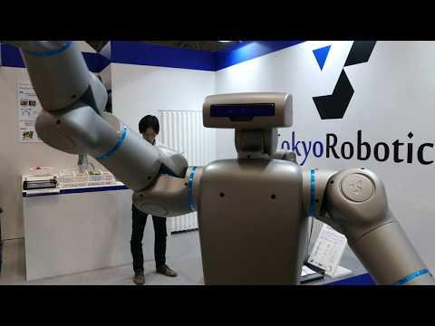 東京ロボティクス トルク制御上体ヒューマノイド Torobo 2017国際ロボット展