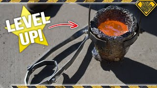 Make Crucible Tongs