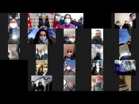 CHP GENEL BAŞKANI KEMAL KILIÇDAROĞLU SEN VARSAN BİZ VARIZ KAMPANYASINA KATILDI 15/01/2021
