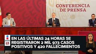 ÚLTIMA HORA: Confirman 59 mil 567 casos positivos y 6 mil 510 fallecimientos por Covid-19