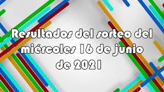 Lotería de Panamá - Resultados del sorteo del miércoles 16 de junio de 2021