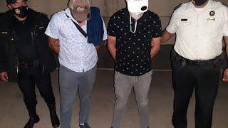 PNC captura a dos hombres con rótulo falso del gobierno