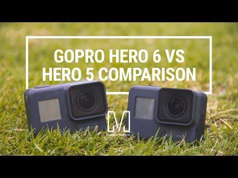 GoPro HERO 6 Black vs HERO 5 Black Comparison