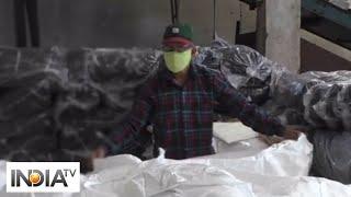 Dyeing mills resume operations in Surat - INDIATV