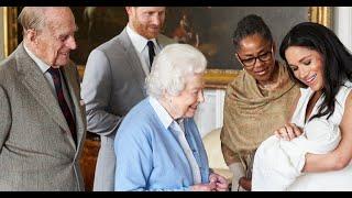 Meghan Markle et le prince Harry parents : la reine Elizabeth a rencontré leur fille Lilibet !