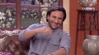 Comedy Nights with Kapil - Saif faces difficulties, just like everybody else! - COLORSTV