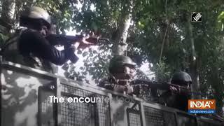 2 terrorists eliminated in Anantnag encounter - INDIATV