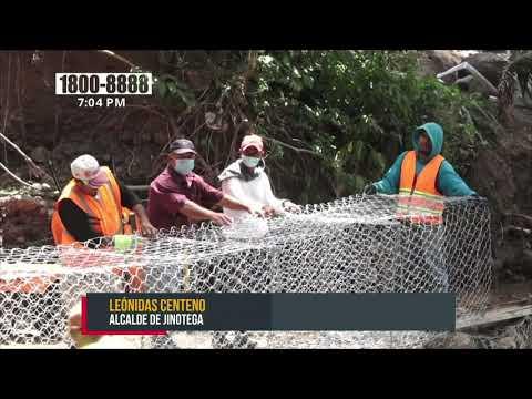 Alcaldía de Jinotega realiza obras de mitigación ante la entrada del invierno - Nicaragua