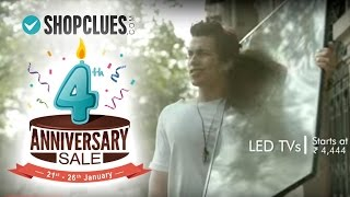 ShopClues 4th Anniversary Sale 2016