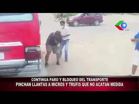 Abusos en bloqueo de transportistas