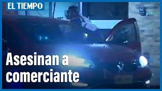 Delincuentes dispararon en varias ocasiones al comerciante que llegaba en su carro