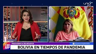 Entrevista a Jeanine Añez en Que No Me Pierda Parte 1
