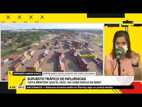 Empresario denuncia que Aduanas secuestró su contenedor y lo vendió a un político