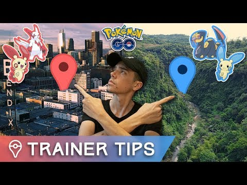 connectYoutube - THESE ARE POKÉMON GO'S NEW GEN 3 REGION EXCLUSIVES (CAUGHT TWO OF THEM)