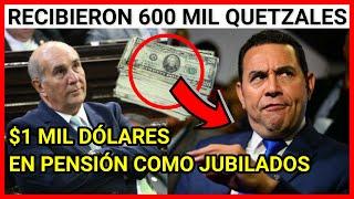Urgente Guatemala Expresidente Morales ofreció $1mil dólares de pensión a Diputados para quedar bien