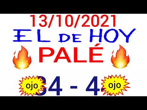 NÚMEROS PARA HOY 13/10/21 DE OCTUBRE PARA TODAS LAS LOTERÍAS..! Números reales 05 para hoy..!