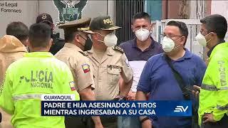 Hombre y niña de un año son asesinados en el sur de Guayaquil