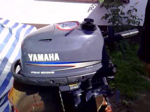 Yamaha 5 Hp Outboard Motor 2006 R 2 Stroke Dwusuw
