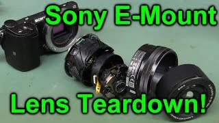 EEVblog #849 - Sony E-Mount Camera Lens Teardown