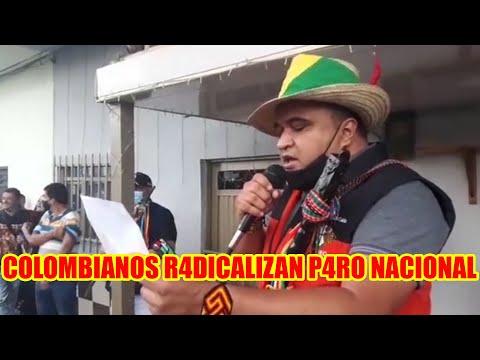 IVAN DUQUE PRESIDENTE DE COLOMBIA LLAMA DES4DAPTADOS A LOS QUE PROT3STAN Y AM3NAZA A M4NIFESTANTES