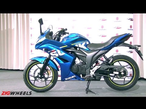 Suzuki Gixxer SF :: WalkAround Video :: ZigWheels