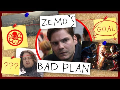 Bad Plan - Zemo in Captain America: Civil War