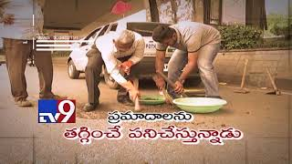 Salute to Bala Gangadhar for repairing damaged roads with his pension money