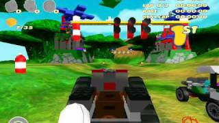 Lego Racers 2 Walkthrough (1/2)