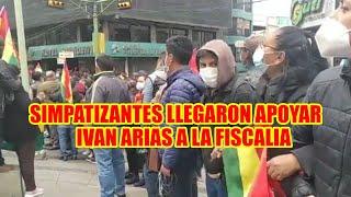 IVAN ARIAS FUE CITADO HOY DÍA DECLARAR POR LA FISCALIA EN LA PAZ..