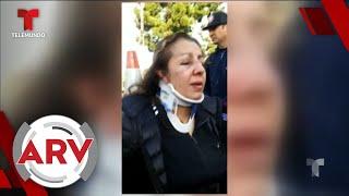 Madre quería denunciar bullying a su hija y recibió una paliza   Al Rojo Vivo   Telemundo