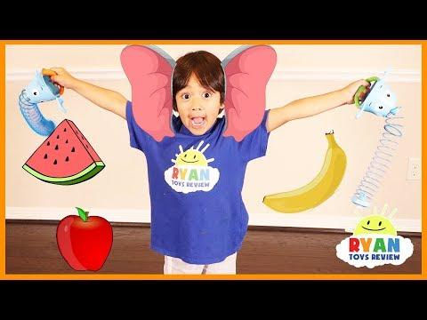 Elefun & Friends Snackin' Safari Board games for kids