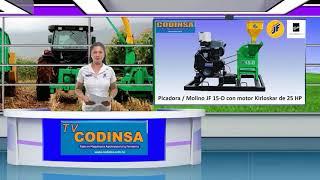 VENTA DE GANADO / MAQUINARIA AGROPECUARIA TV CODINSA 29 ABRIL 2021