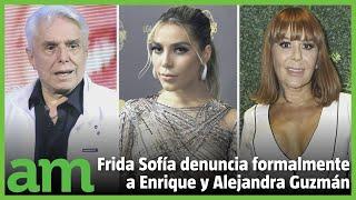 Frida Sofía demanda  a Alejandra y Enrique Guzmán por tres delitos