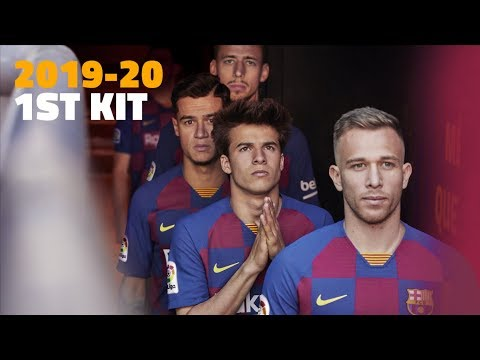 فيديو.. تقديم قميص برشلونة الجديد