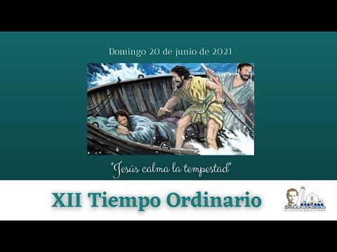 Misa Matutina 9 am. Domingo de la XII semana del Tiempo Ordinario ciclo B