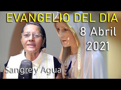 Evangelio Del Dia de Hoy - Jueves 8 Abril 2021- Sangre y Agua