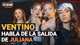 Ventino se pronunció tras la salida de Juliana: