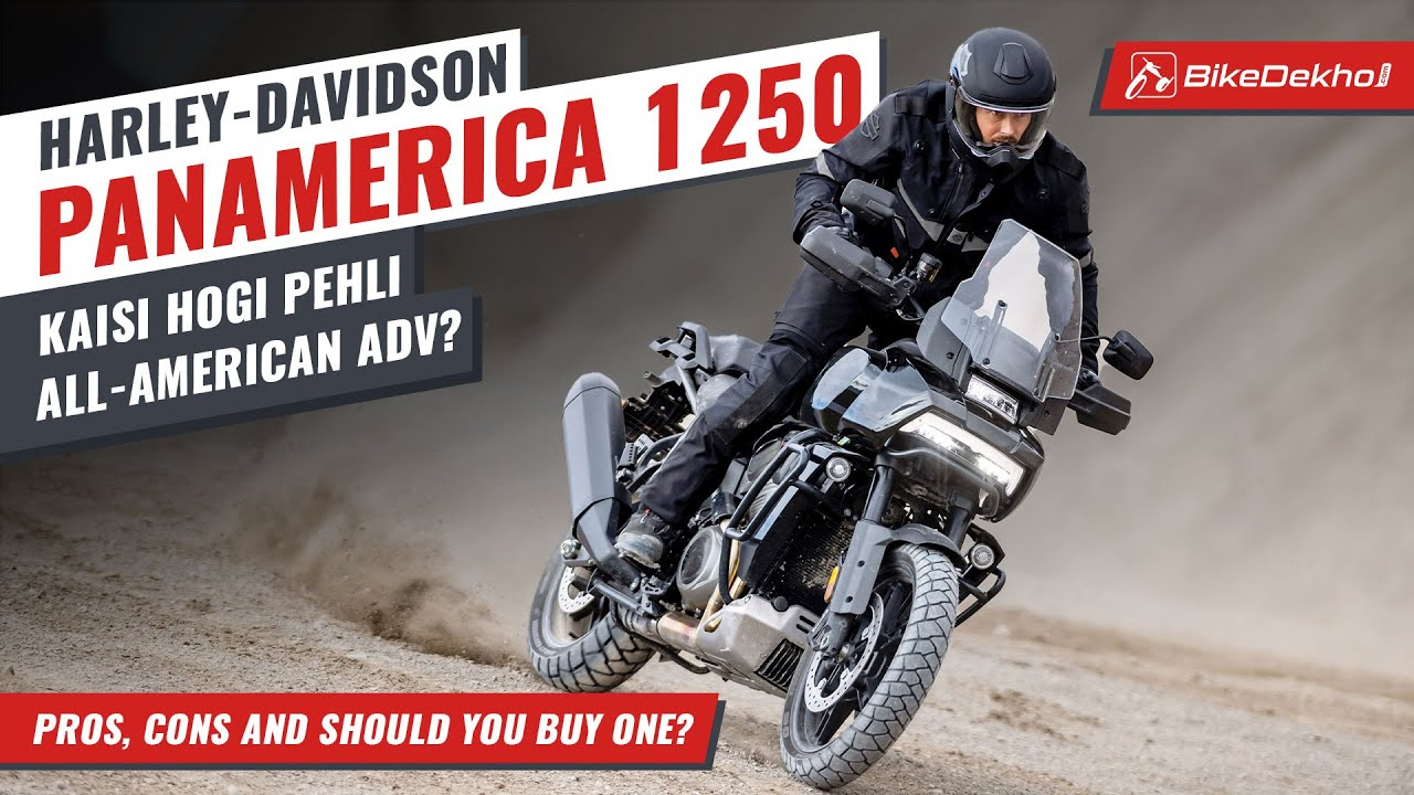 Harley-Davidson PanAmerica 1250 #In2Mins | The road may stop, but this Harley won't! | In Hindi