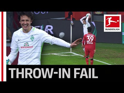 Delaney's Throw-In Fail - What's he doing there?!