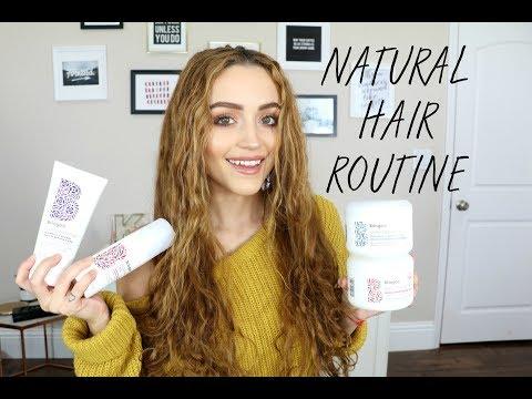 Hair Care Routine using Briogeo