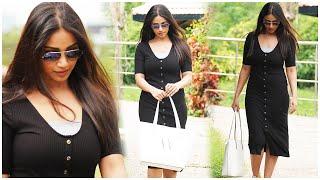 Actress Nivetha Pethuraj Spotted @ Hyderabad   Actress Nivetha Pethuraj Photoshoot   TFPC - TFPC
